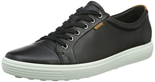 Ecco Soft 7, Baskets Basses Femme Noir (BLACK01001)