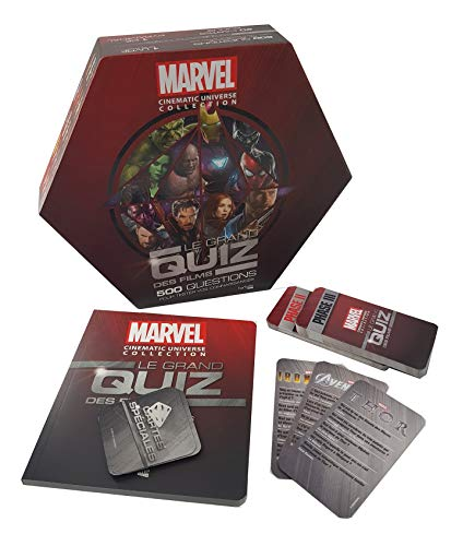 Marvel, Le grand quiz des films par Rodolphe Massé