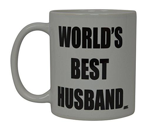 Best Funny Kaffee Tasse World 's Best Mann Neuheit Tasse Frau tolle Geschenkidee für Männer oder Frauen Married Couple Partner Lover oder Partner (World 's Best)