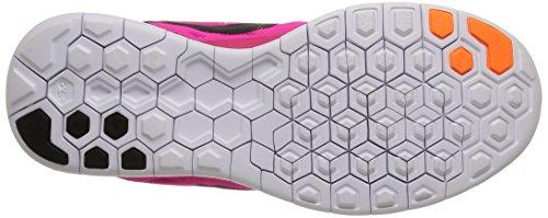 Nike Wmns Free 5.0, Chaussures de course homme multicolore (Pnk Foil/Blk-Pnk Pw-Brght Ctrs)