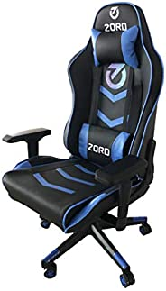 ZORD Gaming Chair built with high-quality leather, height adjustment up to 180KG