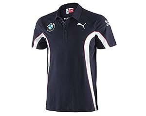 puma bmw motorsport team polo pour homme bleu bleu bleu m sports et loisirs. Black Bedroom Furniture Sets. Home Design Ideas