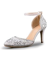 Minitoo MinitooEU-MZ8297 - Zapatos de Vestir de Material Sintético Para Mujer