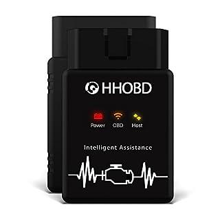 EXZA® HHOBD® WiFi WLAN Android iOS Diagnosegerät CAN Bus Interface - Auto Car PKW KFZ OBD 2