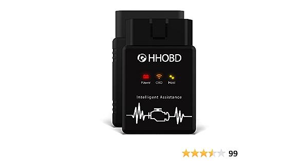 Exza Obd Ii Diagnostic Tool Hhobd Wifi 10599 Unrestricted 1 Piece Auto