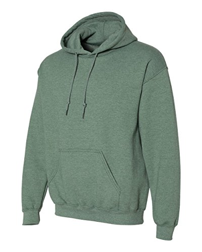 Gildan - Unisex Kapuzenpullover 'Heavy Blend' / Heather Sport Dark Green, XL - Heather Dark Green