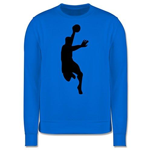 Handball - Handball - Herren Premium Pullover Himmelblau