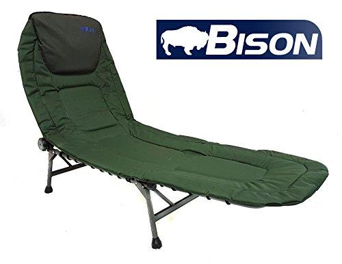 Bison Camping-Liegestuhl fürs Karpfenfischen, Bison 4 Leg Bedchair