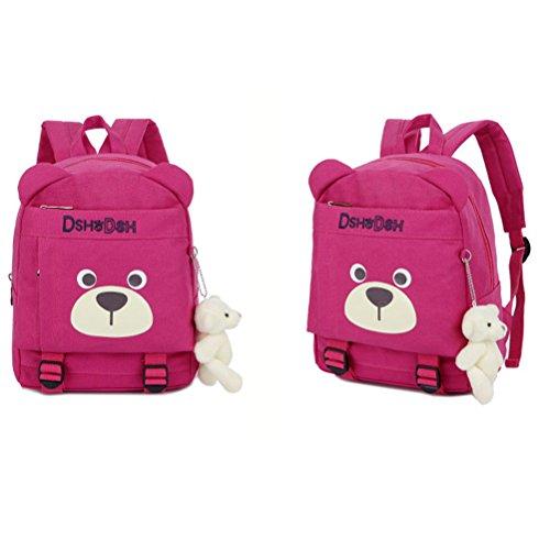 Imagen de  infantil niños guarderia perro oso animales algodón saco preescolar bambino bebes alternativa