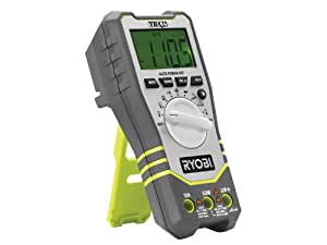 Ryobi RP4020 Digital Multimeter with Battery and Charger (Old Version)