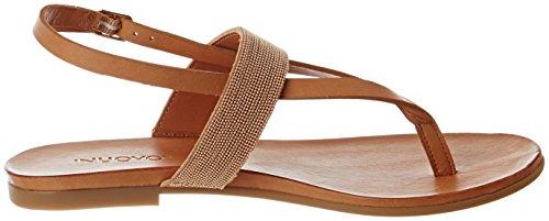 Inuovo - 7163, Scarpe spuntate Donna Beige (Coconut)