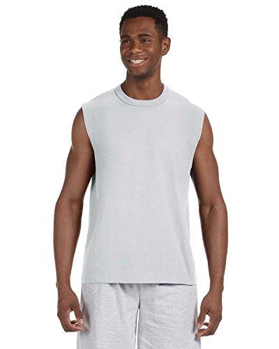 Jerzees Erwachsene hidensi-ttm Ärmelloses T-Shirt Gr. Small, asche