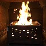 cesta para quemar pellets 40para chimeneas y estufas