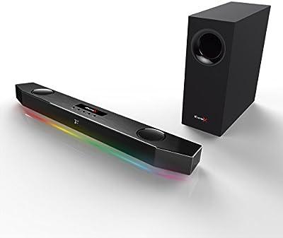 Creative Sound BlasterX Katana - Barra de sonido para juegos multicanal, color negro