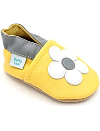 3570c8db465ff Dotty Fish Soft Leather Baby Shoes with Non Slip Suede Soles. 0-6 Months to  4-5 Years. Toddler Shoes. Animals
