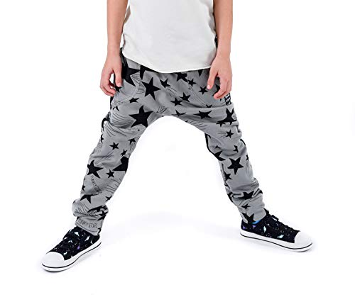 3fnky kids Simple Stars Trousers for Boys and Girls 2-8 Years Old (2-4 Years)