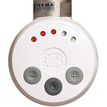 300W blanco termostático eléctrico elemento toallero radiador kit de conversión