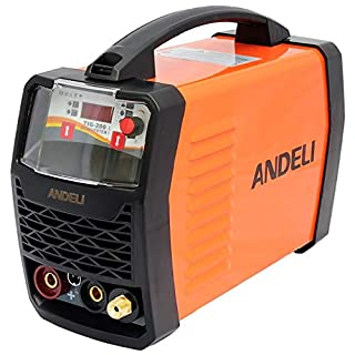 200AMP TIG & MMA/ARC/Stick 2 in 1 DC Inverter Welder with HF Start/Digital Control Panel LED Display/Accessories