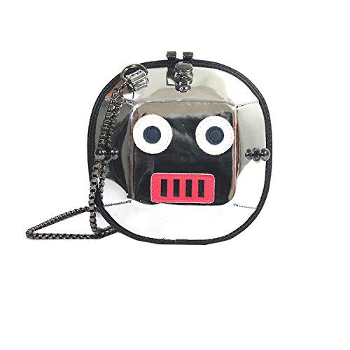 Yy.f Nuove Borse Robot Piccolo Pacchetto Quadrato Il Sacchetto Del Messaggero Spalla Chain Tendenza Moda Esterna Pratico Interno A