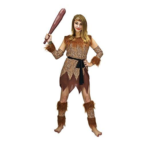 SEA HARE Cavewomen Höhle Mädchen Fancy Kleid Leopard gedruckt - Höhle Mädchen Kostüm