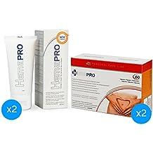 2 Hemapro Pills + 2 Hemapro Cream: Pastillas y Crema para prevenir y aliviar hemorroides