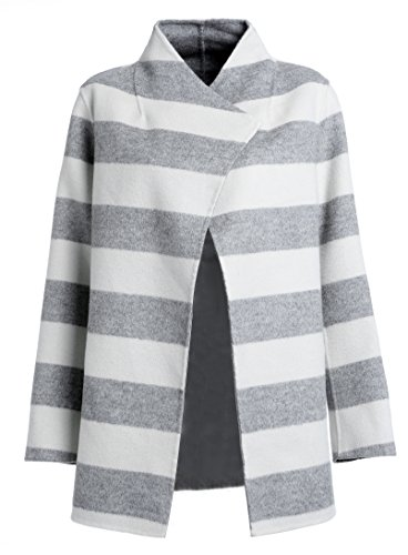 DP Mode kurz Damen Mantel Strickmantel MERINO Wolle verschlusslos
