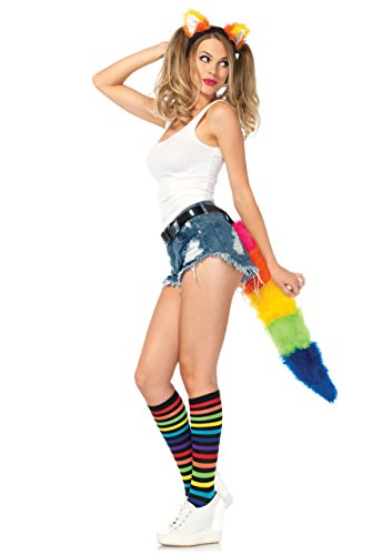 Leg Avenue A1966 - Rainbow Fox Kit, Einheitsgröße, multicolor