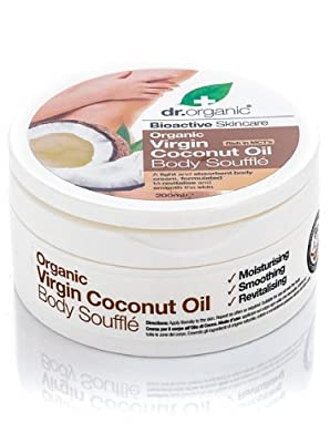 Dr Organic Virgin Coconut Oil Body Soufflé 200ml from Dr.Organic