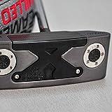 AGAOERFPalos de Golf M2 Negro/Rojo Sun Golf Putter 32/33/34/35/36 Pulgada Eje de...
