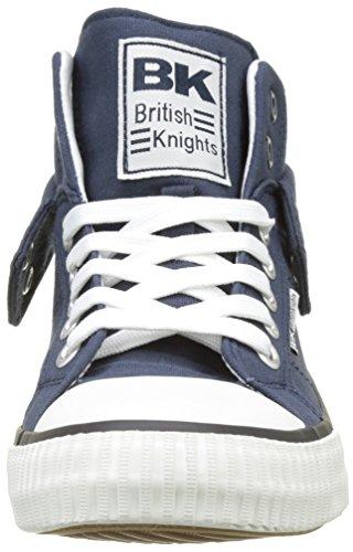 British Knights Herren Roco Hohe Hausschuhe Blau (Blue)
