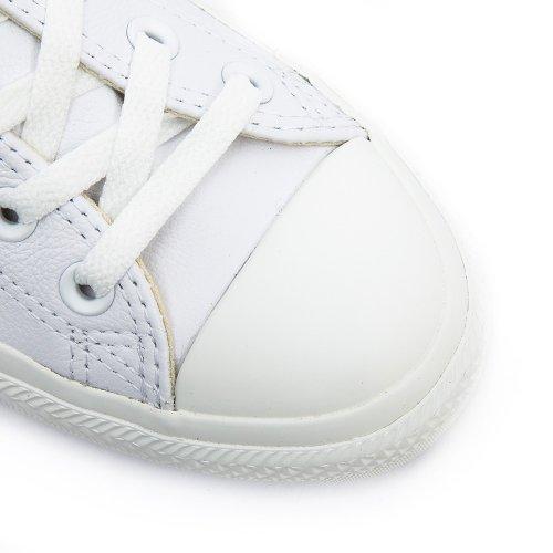 Converse - Ctas Mono Ox Cuir, sneakers da unisex adulto Bianca