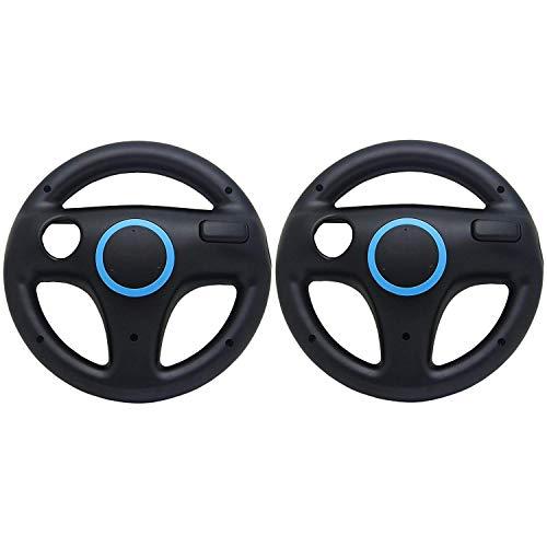 Expresstech @ Volante Da Corsa 2PCs Giochi di corse Volante di comando per Nintendo Wii Wii-U WII U controller di gioco Mario Kart telecomando Joycon Joy-Con ACCESORIO