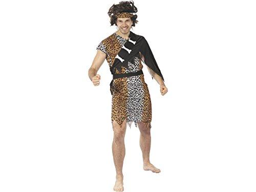DISONIL Costume Cavernicolo per Uomo L