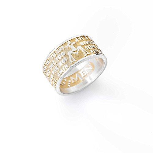 anello-unisex-gioielli-amen-ave-maria-misura-20-casual-cod-amg-20