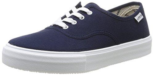 Calego - Ingles Lona, Sneakers  da unisex adulto, blu(bleu (marino)), 38