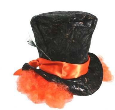 Mad Hatter Hat and Hair Accessory Fancy (Kid Mad Hatter Kostüme)