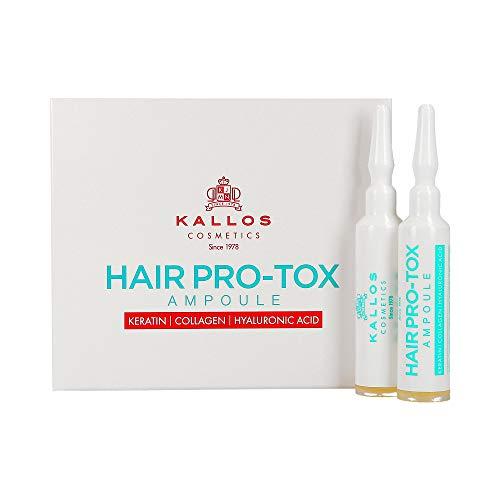 KALLOS KJMN Pro-Tox Haarverstärkende Ampullen 10 x 10 ml