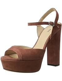 HUGO Dale 10199302 01, Sandalias de Plataforma Para Mujer