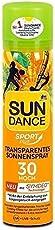 Sundance Transparentes Sonnenspray LSF 30 Sport plus - Besonders lang anhaltendes Frische Gefühl Cooling Effekt für die erhitzte Haut Schweißressistent extra wasserfest