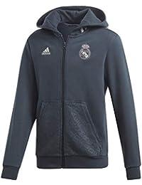 Adidas Veste à Capuche Junior Real Madrid 2018 19 aaf826d1997