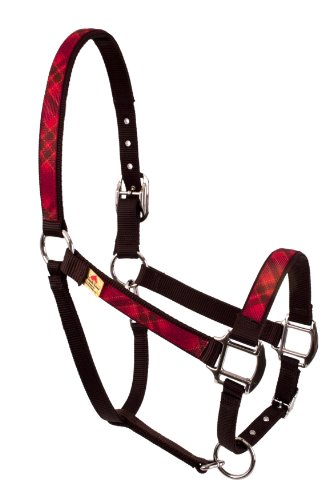 Rot Haute Pferd rdk1403a Equine Elite Horse Halfter, rot Kilt (Equine Elite Halter)