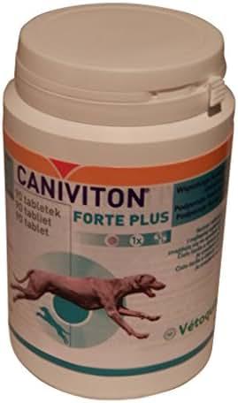 90Comprimés Vetoquinol Caniviton forte plus Complément alimentaire pour chien
