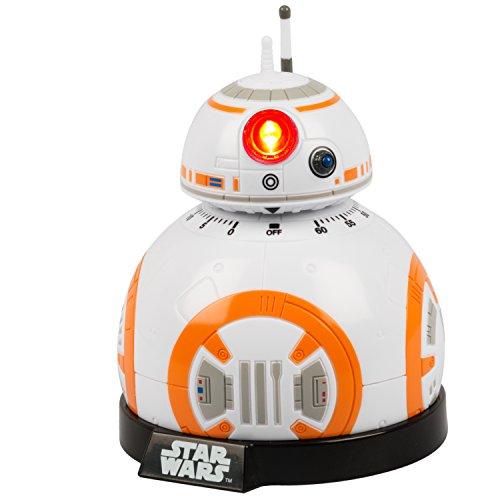 41Emo7Yu7aL. SS500  - Star wars Epvii: SW02722 Kitchen Timer: Bb-8 (Light And Sound), Orange/white