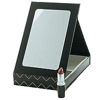 XIAHE HD Makeup Mirror - Espejo De Almacenamiento Portátil con Caja De Almacenamiento Espejo Plegable De