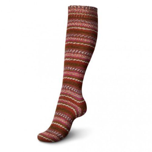 Wolle-mischung-stulpen (100g Regia Mix-it - Farbe: 9376-India Color - eine farbenfrohe Mischung aus ganz vielen Effekten!)