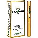 NuVega Lash Eyelash – veganskt ögonfransserum och ögonbrynsserum tillverkad i Tyskland (SuperV (3ml))