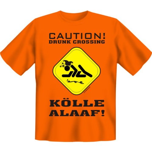T-Shirt - Caution - Kölle Alaaf -