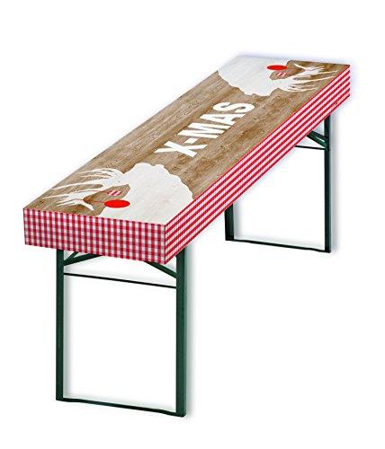 patide - die Papiertischdecke für Ihr ganz besonderes Weihnachten, Design: X-MAS Platzhirsch