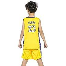 BUY-TO Jersey de James Uniforme de Baloncesto para niños Camiseta de Traje de niño