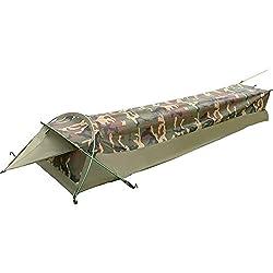 GEERTOP Tenda Bivy Ultraleggera per 1-Persona - 225 x 75 x 35 cm - Impermeabile - Facile e Veloce da Montare (CAMUFFARE)
